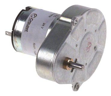 Crouzet Getriebemotor 82841056 24V 4,2U/min Welle ø 4mm Höhe 51mm