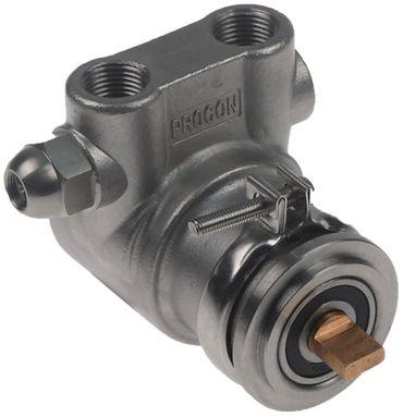 PROCON V6076 Pumpenkopf mit Bypass Länge 82mm Achse 4,8x11mm NPT