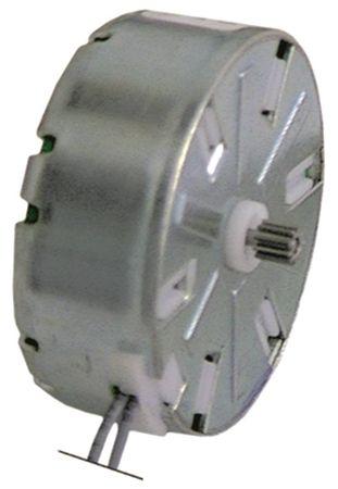 CDC Motor für Timer 230V 10 Zähne Code M48L ø 47mm 47mm 230V