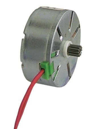 CDC Motor für Timer 230V 12 Zähne Drehrichtung linksdrehend 37mm