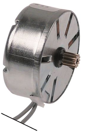 CDC Motor 12 Zähne Drehrichtung rechtsdrehend ø 37mm 37mm 24V AC