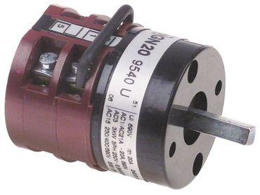 ATA Drehschalter GN209540U für Spülmaschine AF78DPS 3-polig 690V