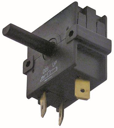 Bartscher Drehschalter A040081 für Toaster A151600 250V 2NO 23mm