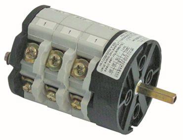 Bremas Drehschalter 3-polig 40A 3 Schaltstellungen