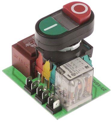 Bedienplatine für Fleischwolf mit Drucktaster 230V Länge 79mm