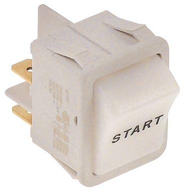 Cookmax Wippentaster für 741003 weiß Symbol Start 250V 1NO 16A