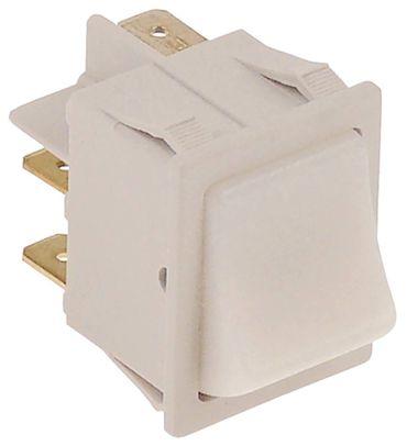 Cookmax Wippentaster für 741003 weiß 250V 1NO/Leuchte 1-polig