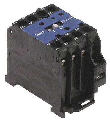 ABB 11102161 Hilfsschütz 230V AC1 20A Schraubanschluss 4A 2NO/2NC