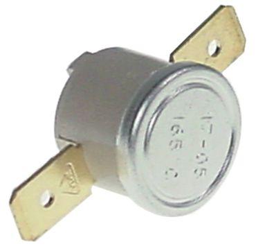 Anlegethermostat 1-polig 1NC 165°C Anschluss Flachstecker 6,3mm
