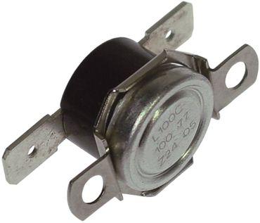 Anlegethermostat 1-polig 1NC 100°C 2-Lochbefestigung