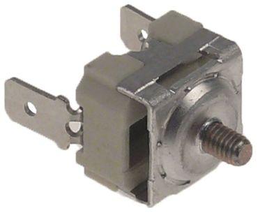 Anlegethermostat 1-polig 1NC 140°C Anschluss Flachstecker 6,3mm