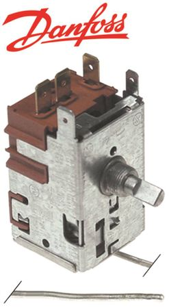 DANFOSS 077B7001 Thermostat max. Temperatur 2°C -25 bis +2°C