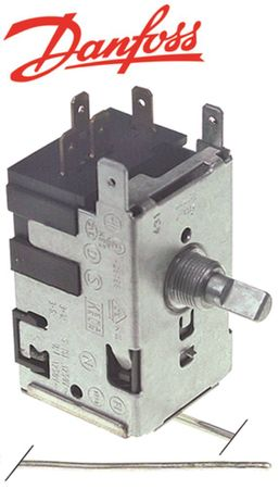 DANFOSS 077B7007 Thermostat max. Temperatur -10°C