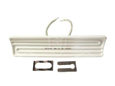 Stahl Keramikstrahler mit Kabel aus geperlte Litze Länge 245mm