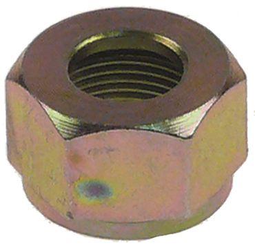 Überwurfmutter für Rohrø 10mm M15x1 M15x1