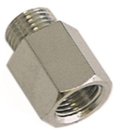 Verschraubung für Thermoelement M10x1 Länge 14mm ø 6mm M10x1