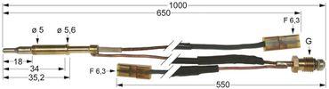 Küppersbusch Thermoelement für Kochkessel EGS060 Länge 1.000mm
