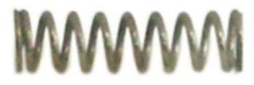 Druckfeder ø 6mm Länge 21mm Drahtstärke ø 0,9mm