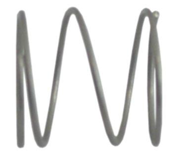 Druckfeder ø 29,5mm Länge 29mm Drahtstärke ø 1,6mm