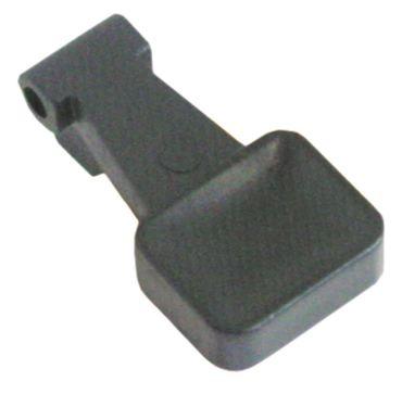 Hebelgriff für Espressomaschine schwarz 1241363 Kunststoff AURORA