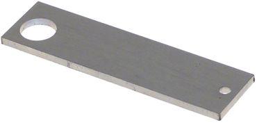 Befestigungsplatte für Türfeder Länge 90mm Höhe 3mm