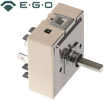 EGO 50.59070.048 Energieregler 240V links Achse 6x4,6x19mm 22-70 %