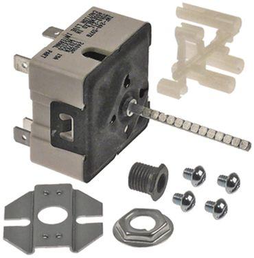 Robertshaw INF240TP1211 Energieregler 240V links Achse ø 6x4,6mm