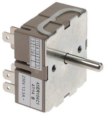 Jünger Energieregler 45ER104C1 für Bräter Elektro 271, 272x23mm