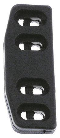 Kloben Länge 29mm Breite 80mm schwarz 3.31.0769.0 Stärke 11mm