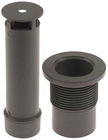 Angelo-Po Überlaufrohr Länge 115mm ø 28mm für Spülmaschine