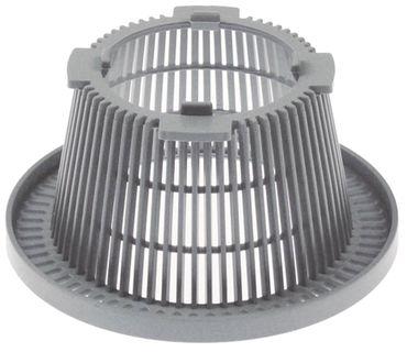 Bartscher Rundfilter für Spülmaschine TF50 ø 128mm Höhe 61mm
