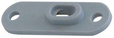 Gleitplatte für Spülmaschine Fagor FI-48B, FI-64B, FI-48, Mastro