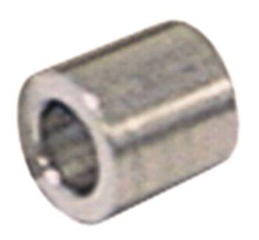 Abstandsbuchse Aussen 13mm Innen ø 5mm Länge 13mm Aluminium