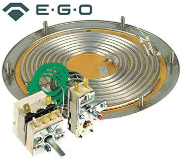 EGO 28.06021.100 Heizboden für Franke 3000W 400V 2 Heizkreise