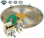 EGO 28.06021.100 Heizboden für Franke 3000W 400V 2 Heizkreise 001