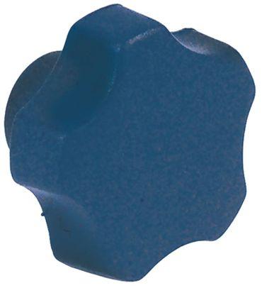 Cookmax Sterngriff für Aufschnittmaschine ø 40mm blau M6
