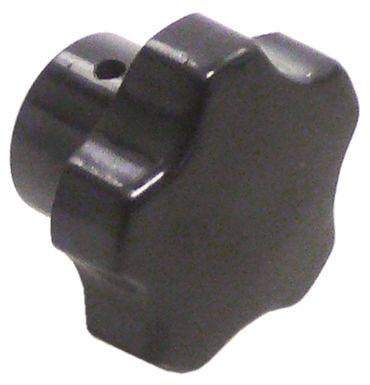 Sterngriff für Espressomaschine mit Querbohrung ø 40mm L2 7mm