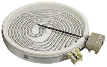 EGO Strahlungsheizkörper 10.74631.004 mit Temperaturmelder und mit Energieregelung