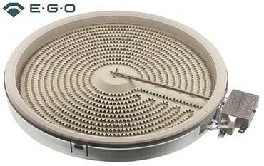 EGO 10.53111.106 Strahlungsheizkörper für Ceranherd Palux 672300