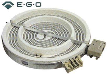 EGO Strahlungsheizkörper 10.87261.040 mit Temperaturmelder und mit Energieregelung