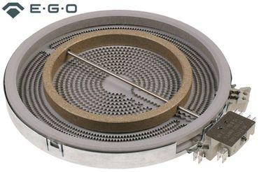EGO 10.51213.432 Strahlungsheizkörper mit Temperaturmelder 2200W