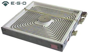 EGO Strahlungsheizkörper 10.77848.008 mit Topferkennung und mit 3+2 Anschlüssen