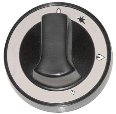 Olis Knebel für 749CGV, 769CGV, 7741C für Gashahn ø 72mm
