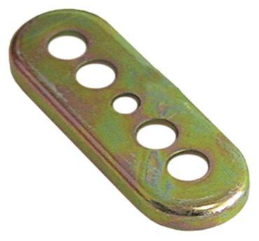 Flansch DB 70 Länge 80mm 5 Löcher Breite 28mm Kennzahl L