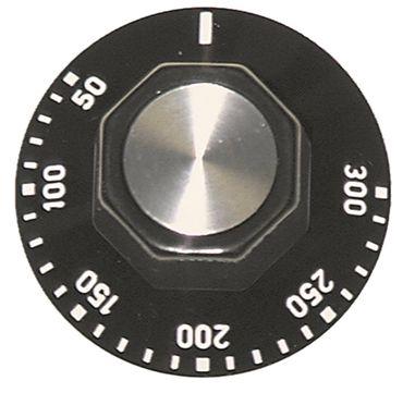 IMIT Knebel für Backofen Capic für Thermostat ø 50mm schwarz