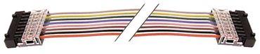 Flachbandkabel für Tastaturen 8-polig Länge 800mm
