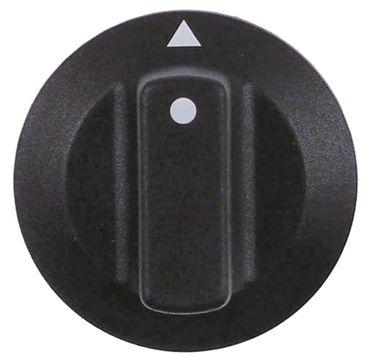 CONVOTHERM Knebel für OD12.20, OD10.20, AR40 ø 42mm schwarz