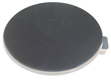 EGO Kochplatte mit 8mm Überfallrand 12.22474.140, Alpeninox 230V