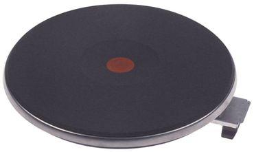 EGO Kochplatte mit 8mm Überfallrand 12.22463.014, Alpeninox 440V