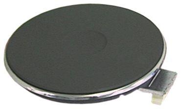 EGO Kochplatte mit 4mm Überfallrand 230V 1000W für Elektroherd